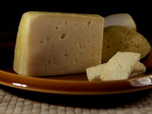 Thanks to its supply of calcium, cheese is a beneficial food for strong bones and teeth.